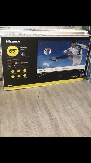 65 INCH HISENSE H9 PLUS 4K SMART TV for Sale in Chino Hills, CA
