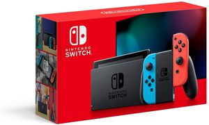 NINTENDO SWITCH V.2. w PRE DOWNLOADED GAMES. for Sale in Whittier, CA