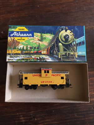 Ho-scale Union Pacific w/v caboose vintage for Sale for sale  Long Beach, CA