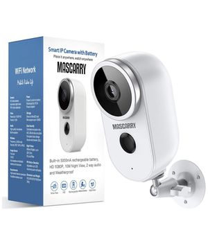 Wireless Outdoor Security Camera 1080P Rechargeable Battery Powered WiFi Camera with Night Vision, Motion Detection, 2-Way Audio, Weatherproof Wirele for Sale in Brooklyn, NY