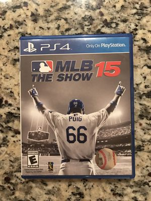 MLB 15 The Show PS4- pick up only for Sale in Houston, TX