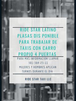Trabajo De Taxis Disponible for Sale in Wheaton, MD
