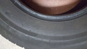 Travel trailer tire. 205x75x14 with an 8 tread depth for Sale in Trinity, FL