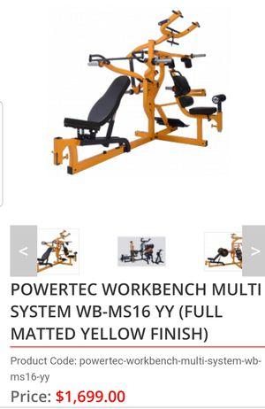 Powertec Workbench Multisystem Home Gym for Sale in Rex, GA