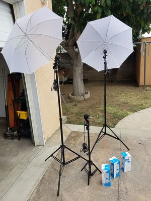 VIDEO LIGHTS NEW for Sale in Rosemead, CA