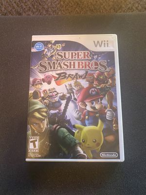 Super smash bros. Nintendo Wii for Sale in Cleveland, OH