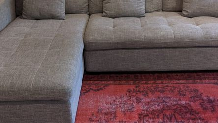 Mid Century Modern Chaise Sectional Sofa for Sale in Los Angeles,  CA