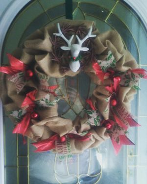 Handmade Rustic Christmas Wreath for Sale in St. Louis, MO