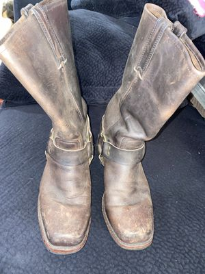 Frye harness leather boots for Sale in South Gate, CA