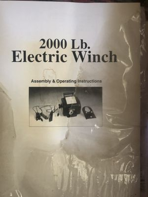 Electric winch for Sale in Jamul, CA