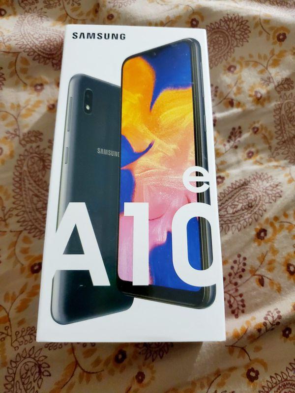 Samsung A10e brand new sealed