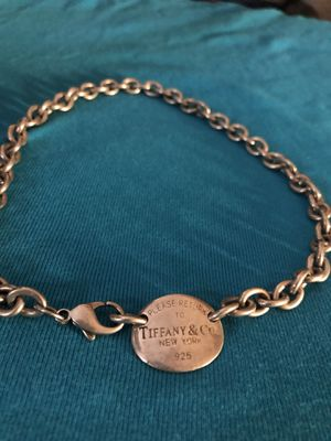 Tiffany and co necklace 925 for Sale in Aldie, VA