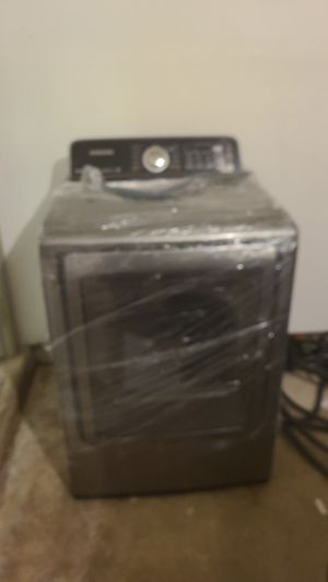Samsung..electric dryer..with steam moisture sensor.....clean. for Sale in Wall Township, NJ