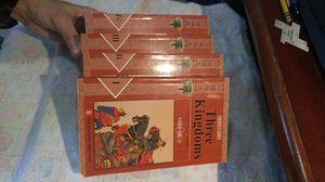 """""""Three Kingdoms"""" vol. 1-4 for Sale in Kalamazoo, MI"""