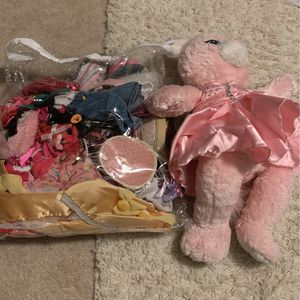 Build a Bear, and bag of build a bear clothes for Sale in Surprise, AZ