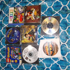 8 c d games /computer for Sale in Sound Beach, NY