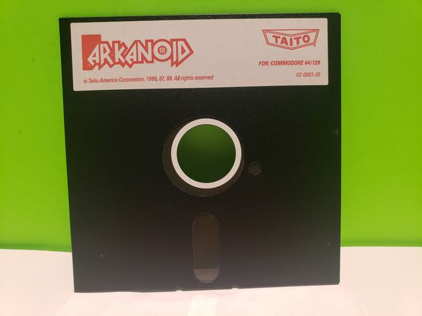 Commodore 64 / 128 Arkanoid Floppy Disk