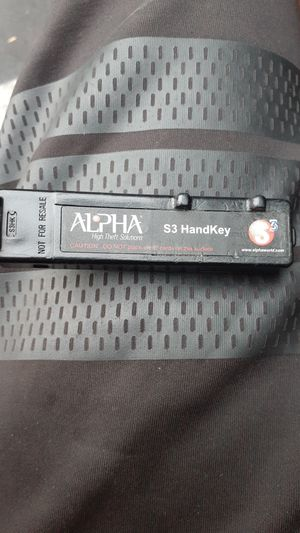 Alpha S3 HandKey for Sale in Anaheim, CA
