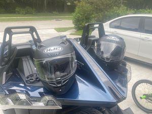 2 HJC motorcycle helmets for Sale in Tampa, FL