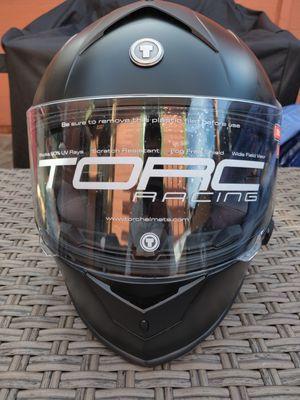 Dual visor motorcycle helmet with Bluetooth for Sale in Los Angeles, CA
