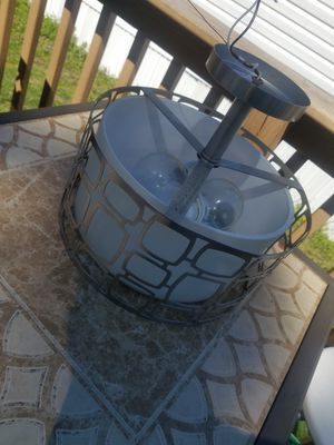 Stainless steel light fixture for Sale in Odenton, MD