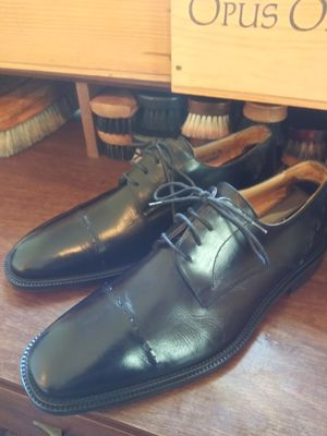 Black Mercanti fiorentini Oxford shoes size 9 for Sale in Columbus, OH