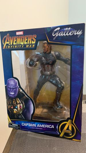 Captain America Avengers Infinity War - Marvel Gallery - Diamond Select Toys - PVC Diorama Statue for Sale in Kenmore, WA