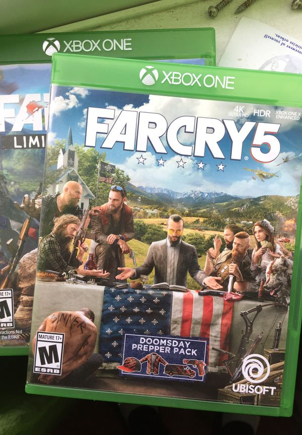 Far Cry 4+5 xbox one for Sale in Hillsboro, OR - OfferUp