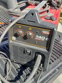 Mig Welder Lincoln Electric 140c for Sale in Pico Rivera,  CA