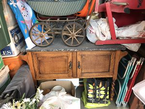 Antique marble top washstand for Sale in Brea, CA