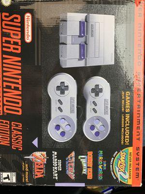 Super Nintendo with games for Sale in Shoreline, WA