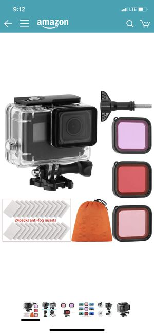 GoPro hero 7 waterproof case for Sale in Chicago, IL