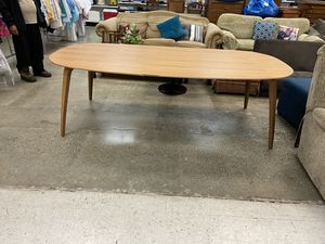 "Modern dining table approx 48""x90"" for Sale in Kent, WA"