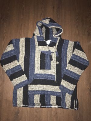 Poncho Drug Rug Men's XL Vintage Tag not readable for Sale in Tempe, AZ
