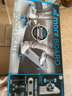 Morf board 2in1 Scoot and Skate Combo Set for Sale in Lancaster, CA