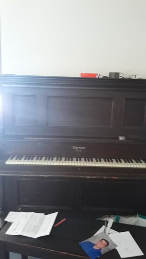 Free piano with stool for Sale in Woburn, MA