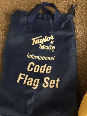 International Code Flag Set for Sale in Commack, NY