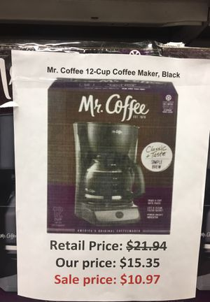 Me coffee 12 cup coffee maker for Sale in San Leandro, CA