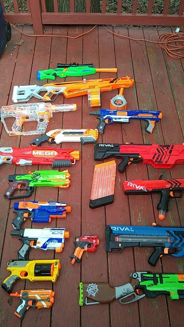 15 nerf guns