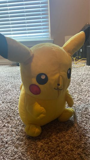 Pikachu / character plush for Sale in Grand Prairie, TX
