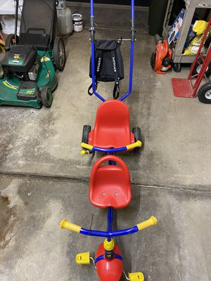 Kettler Tandem Tricycle With Push Bar for Sale in Northbrook, IL