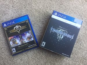 Kingdom Hearts 3 Deluxe Edition and Story So Far for Sale in San Diego, CA