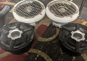 Two pm2652 fosgates and two MM651 Polk audio's(possible trades but not audio trades) for Sale in Mesa, AZ