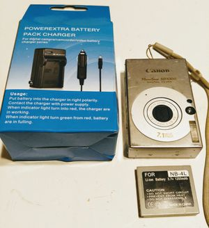 Canon PowerShot Digital Camera SD1000 7.1 MP for Sale in Brevard, NC