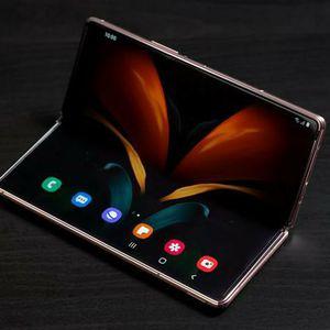 Samsung galaxy fold Z 2 Mystic bronze (AT&T) for Sale in Kennewick, WA