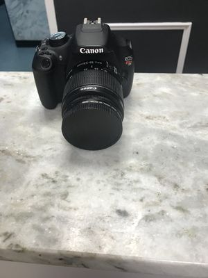 Cannon T5 rebel Great Condition!!!! for Sale in Fort Washington, MD