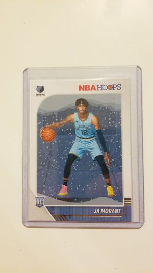 2019-20 nba Hoops JA Morant RC- snowflake sp for Sale in Benton, IL