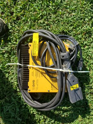 Electric golf cart professional battery charger for Sale in Shipman, VA