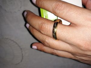 14K Gold Plated Wedding Ring, Size 10. for Sale in Dallas, TX