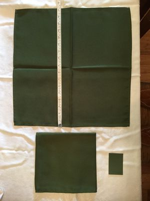 "17"" Dinner Napkins, Hunter Green, Bulk of 82 for Sale in Houston, TX"